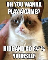 Do You Want To Play A Game Meme - oh you wanna play cat meme cat planet cat planet