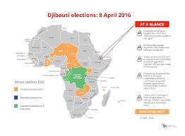 Djibouti Map Iss Africa Djibouti Elections 2016