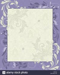 Background Invitation Card Vintage Invitation Card With Ornate Elegant Retro Abstract Floral