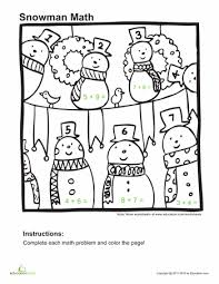 brilliant ideas of winter math worksheets 2nd grade about sheets