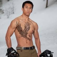 oblique tattoos for men