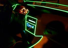 installing led lights in car 10 meters 12v car decoration el wire neon light automo lighting