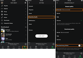 How To Optimize Photos On Iphone How To Optimize The Spotify App To Use Less Cellular Data