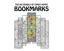 Printable Halloween Bookmarks by Coloring Bookmarks Coloring Book Bundle 15 Printable