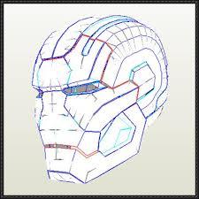 iron man helmet template paper the best helmet 2017
