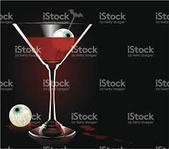 Human Anatomy Martini Halloween Cocktail Stock Vector Art 164319354 Istock