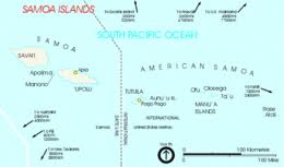 map samoa islands