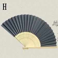 held paper fans paper fans folding fan wedding party favor new bamboo cn ebay
