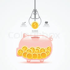infographic business claw game with coin template design money