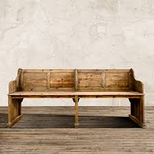 pine bench for kitchen table kensington 98 bench in barnwood natural bench dining sets and pine