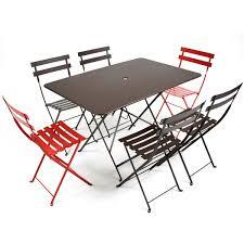 chaises fermob chaise pliante classique bistro de fermob