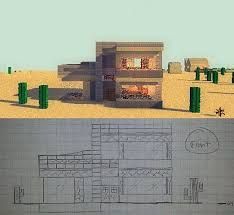desert house plans simplistic desert bungalow for house plan challenge minecraft