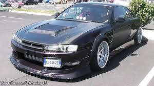 nissan 240sx widebody nissan 240sx stance tuning youtube