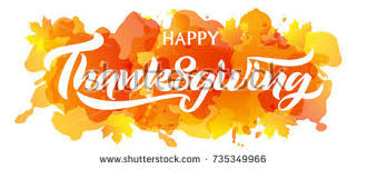 vector illustration happy thanksgiving day typography stock vector