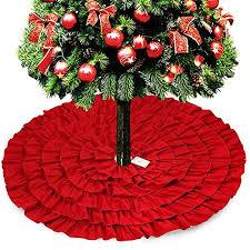ruffled tree skirts best ruffled tree skirts for