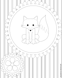 fox racing coloring pages surprising cute fox coloring pages with fox coloring pages