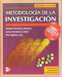 metodologia de la investigacion spanish edition roberto