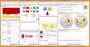 shape pattern year 2 geometry shape consolidation year 1 block 3 wrm reasoning and
