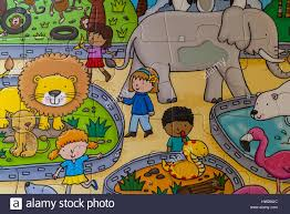jigsaw puzzle section of elc touch and feel zoo puzzle jigsaw