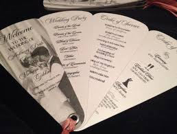 petal fan wedding programs best 25 fan wedding programs ideas on fan programs