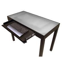 wood desk with glass top wood desk glass top desk ideas