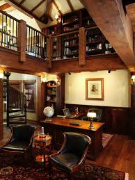 Dreamy Home Offices With Libraries For Creative Inspiration - Home office library design ideas