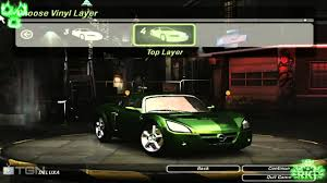 opel solstice need for speed underground 2 2001 opel speedster turbo car tuning