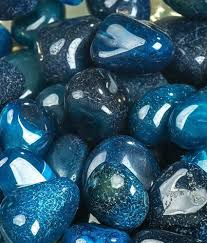decor pebble blue onyx stone pebbles 1kg buy decor pebble blue