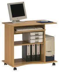 Beech Computer Desk by Maja Madrid Beech Computer Trolley