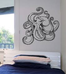 octopus wall decal version 2 vinyl sticker art decor bedroom