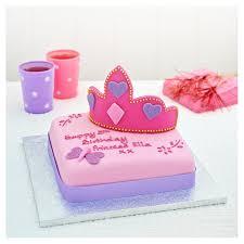 easy entertaining princess crown cake tesco groceries