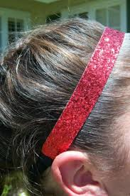 sparkly headbands glitter sports headbands