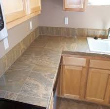 kitchen countertop tile ideas 14 best tiled worktops images on kitchen remodelling