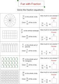 printable math worksheets fractions math worksheets fractions grade printable funth word problems year