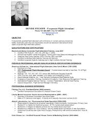 Sample Resume No Experience by Flight Attendant Resume No Experience Flight Attendant Resume