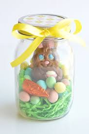 easter gifts jar easter gifts chocolate bunny jars