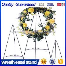 metal wire easel wreath stand in green 48 buy 18 meatal easel