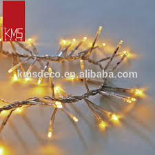 outdoor indoor use led cluster christmas lights with 12v power