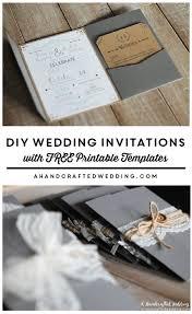 Diy Wedding Invitation Diy Invitations Templates Free 28 Images Modelos De