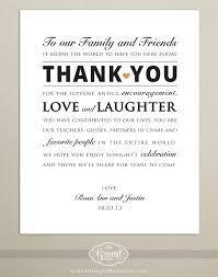Invitation Cards For Wedding Reception Digital File Personalized Wedding Reception Thank You Card