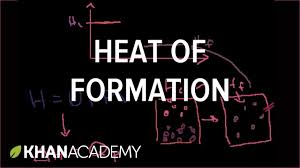 heat of formation thermodynamics chemistry khan academy