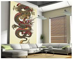aliexpress com buy custom 3d art wallcoverings dragon tattoo aliexpress com buy custom 3d art wallcoverings dragon tattoo asian mural for the living room bedroom dining background wall papel de parede from reliable