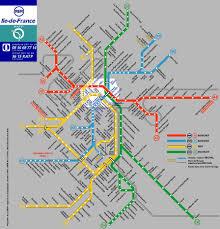 Paris Train And Metro Map by Rer Map Adriftskateshop