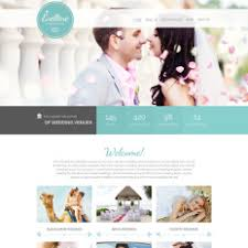 free wedding websites with free website template wedding page