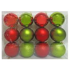 buffalo plaid ball christmas ornament set 4ct wondershop target