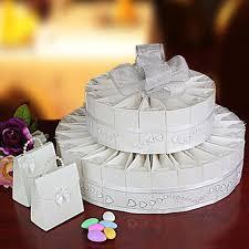 unxia wedding cake favor box kit