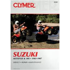 clymer manuel de réparation suzuki alt lt 125 185 m381