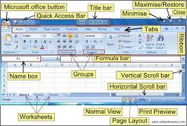 tutorial excel basic basic ms excel 2007 tutorial intro yobankexams