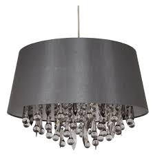 black and white ceiling light shade fifi pendant light shade grey