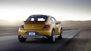 volkswagen beetle concept bbc autos in detroit volkswagen dune sifts the sands of time